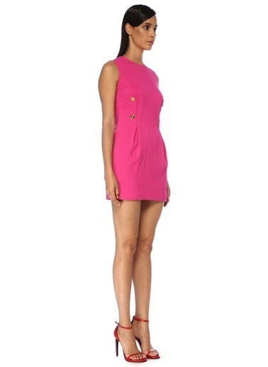 Versace Elbise Fuşya